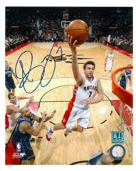 Andrea Bargnani Signed 8x10