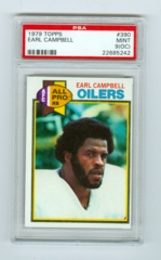 1979 Topps #390 Earl Campbell (Rookie) PSA 9OC
