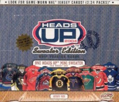 2003-04 Pacific Heads Up Sweater Edition Hobby Box