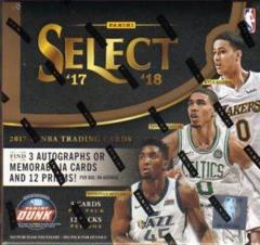 2017-18 Panini Select Basketball Hobby Box