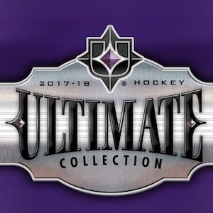 2017-18 Upper Deck Ultimate Collection Hockey Hobby Box (Call for Pricing & Availability)