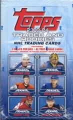 2003-04 Topps Hockey Traded and Rookies Hobby Box