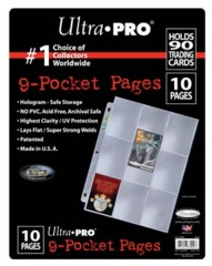 9-Pocket Platinum Page for Standard Size Cards (10-Pack)