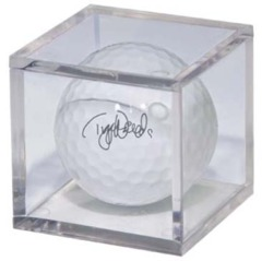 Mini-Figure and Golf Ball Clear Square Holder