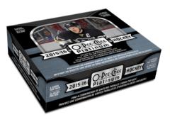 2015-16 Upper Deck O-Pee-Chee Platinum Hockey Hobby Box
