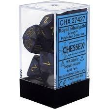 CHX27427: 7 Set - Scarab Royal Blue/Gold
