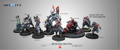 CVB280019 Infinity Yu-Jing JSA Sectorial Army Pack  with Kaizoku Spec-Ops (JSA Pre-Order Exclusive Model)