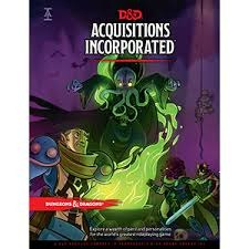 D&D 5E: Acquisitions Incorporated