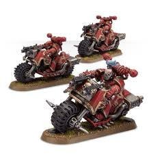 Chaos Space Marines: Bike Squad
