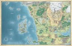 D&D: Sword Coast Adventures - Faerun Map