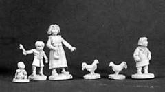 Bones: Townsfolk Children