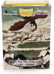 Dragon Shield Sleeves: Art Sleeves - Hunters in the Snow (Box Of 100)