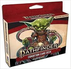 Pathfinder 2E: Condition Card Deck