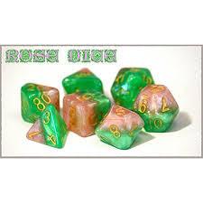 GKG512: 7-Die Set Halfsies - Rose