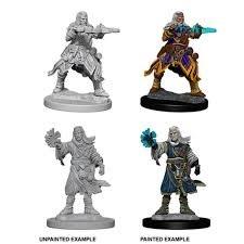 Pathfinder Battles Miniatures: Male Human Wizard