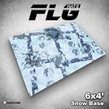 FLG Mats Snow Base 4X6