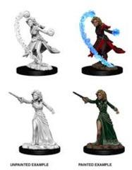 Pathfinder Battles Miniatures: Female Human Wizard