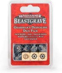 Warhammer Beastgrave: Grashrak's Despoilers Dice