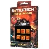 Battletech: House Davion 6d6 Dice Set