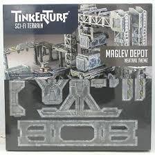 TinkerTurf Sci-Fi Terrain: MagLev Depot - Neutral