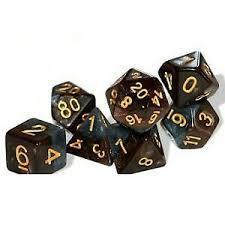 GKG569: 7-Die Set Halfsies - Dwarf