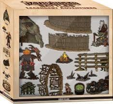 Pathfinder Battles: Legendary Adventures Goblin Village Premium Set