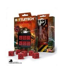 Battletech: House Kurita 6d6 Dice Set