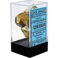 CHX26422: 7 Set - Gemini Blue-Gold/White