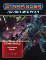 Starfinder RPG: The Threefold Conspiracy 2 - Flight of the Sleepers