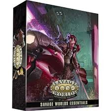 Savage Worlds RPG: Essentials Boxed Kit