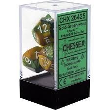 CHX26425: 7 Set - Gemini Gold-Green/White