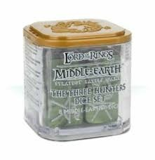 Lord of the Rings: Three Hunters Dice Set