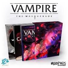 Vampire The Masquerade: Slipcase Set (3 Book Set)