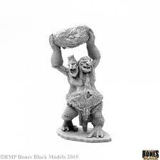 Bones Black: Two Headed Troll