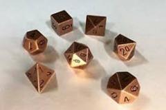 CHX27024: 7 Set - Solid Metal Copper