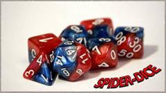 GKG531: 7-Die Set Halfsies - Spider-Dice