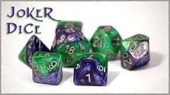 GKG552: 7-Die Set Halfsies - Joker