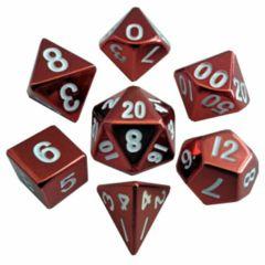 MTD011: 7 Set Metal - Red Painted