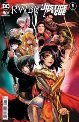 Comic Collection: RWBY / Justice League #1 - #7