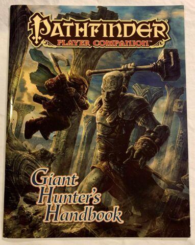 Pathfinder Player Companion: Giant Hunters Handbook