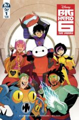 Big Hero Six: The Series #1 Cover A