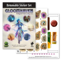Gloomhaven: Forgotten Circle - Removable Sticker Set