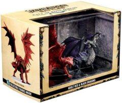 Pathfinder Battles: City of Lost Omens - Adult Red & Black Dragons Premium Set