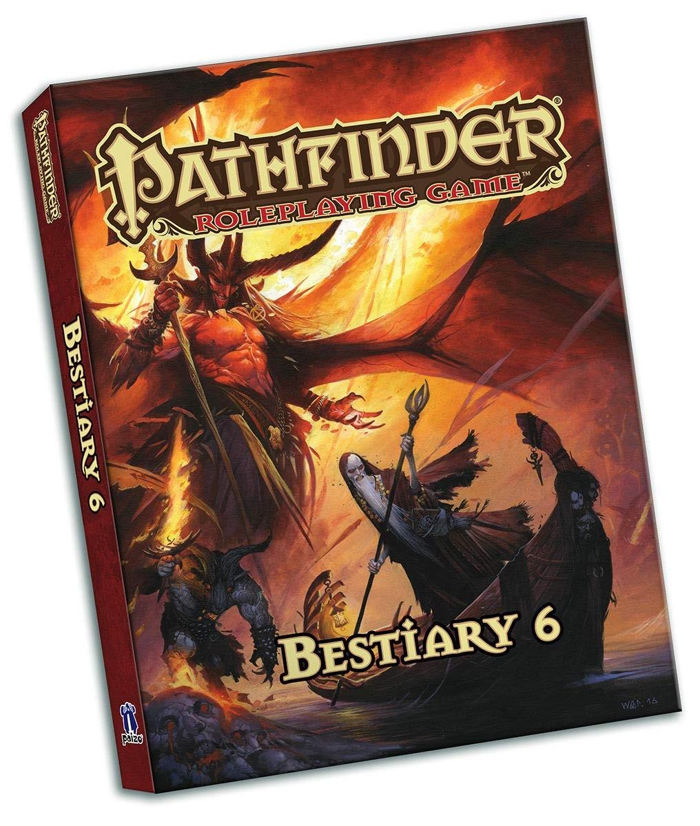 Pathfinder RPG - Bestiary 6 (Pocket Edition)