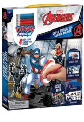 Drawmaster Marvel Avengers: Captain America Super Stencil Kit