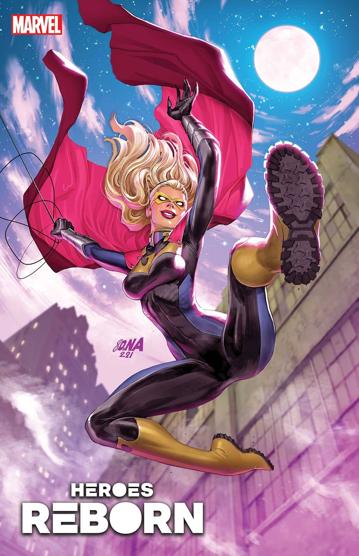 Heroes Reborn: Night-Gwen #1 Cover A