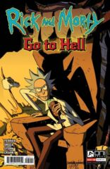 Rick and Morty: Go to Hell #5 Cover A