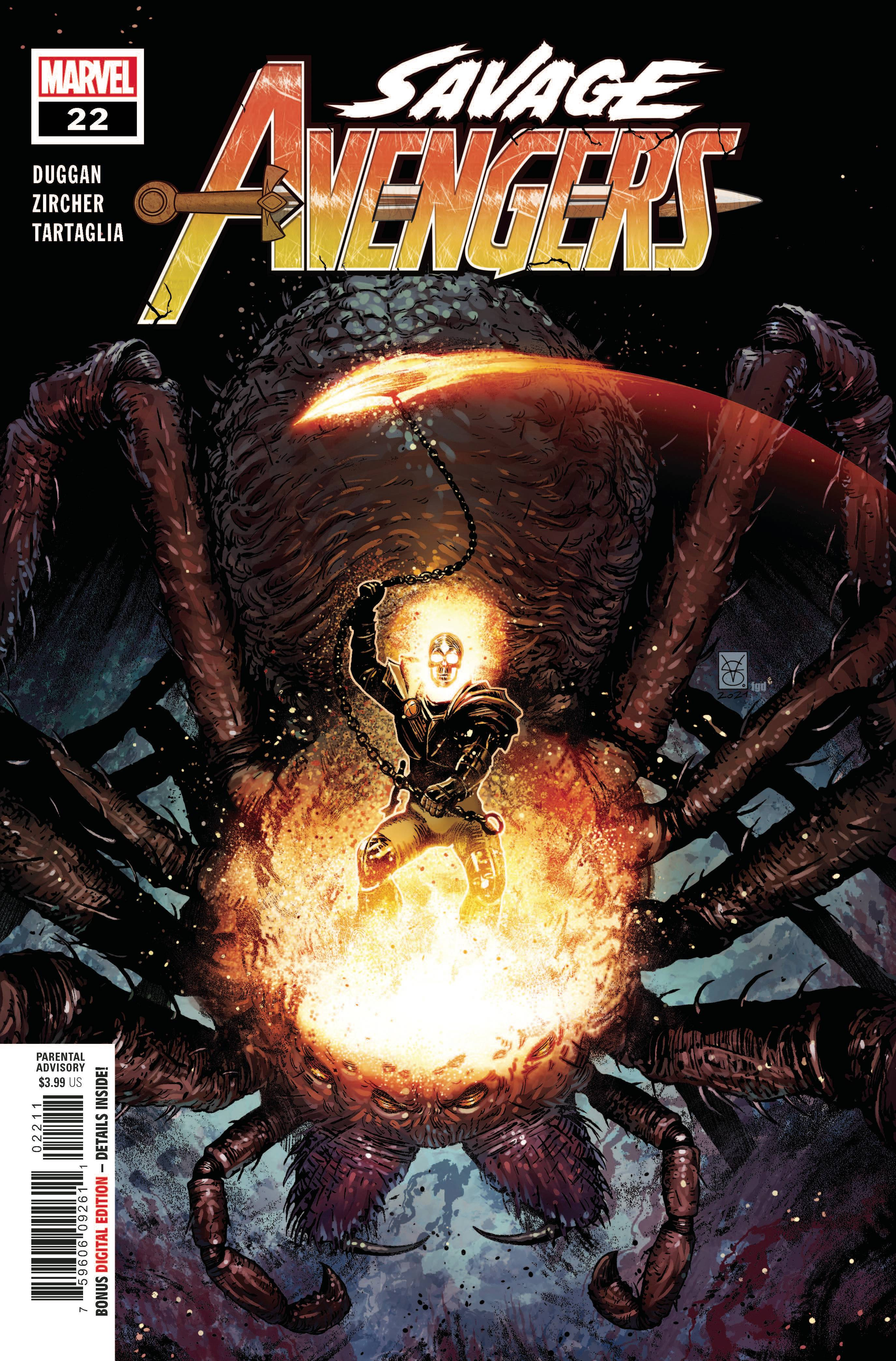 Savage Avengers #22 Cover A
