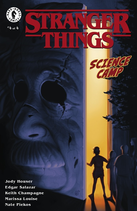 Stranger Things: Science Camp #4 (of 4) Cover A