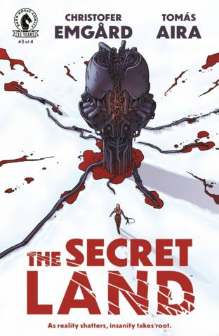 Secret Land #3 (of 4) Cover A